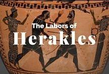 The Labors of Herakles / Hercules / A hero's tale / by J. Paul Getty Museum