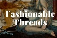"""Fashionable Threads / """"You can never be overdressed or overeducated."""" -- Oscar Wilde / by J. Paul Getty Museum"""