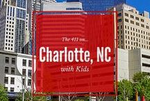 Charlotte with Kids / The top family-friendly activities in Charlotte, North Carolina, plus recommendations of where to stay and eat while visiting Charlotte with kids. #familytravel #NorthCarolina