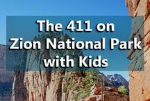 Zion National Park with Kids / Adventure! Things to do, where to eat, where to stay for a great family vacation at Zion National Park. #familytravel #Zion