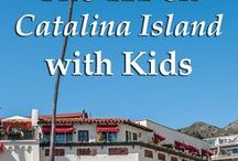 Catalina Island with Kids / Family-friendly activities, lodgings & dining on Catalina Island, California. #familytravel #California