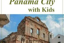 Panama with Kids / Great activities, places to eat, places to play, and a great place to sleep(!) when visiting Panama City, Panama, and exploring the country of Panama with kids.