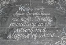 l'hiver / by Constance Snow