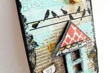 Mixed Media and Altered Art Tutorials / Great tutorials all brought together on one board