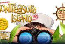 VBS ideas - SonTreasure Island / All things tropical paradise for an island VBS theme.