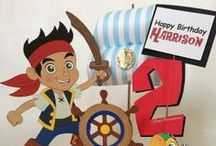 Mason's 2nd Birthday Party Ideas - Jake and the Neverland Pirates / Jake and the Neverland Pirates