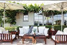 Patio Inspiration / home decor idea   patio ideas   front porch decor   patio lights   patio decor ideas / by illistyle