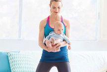 Post baby fitness / by Danielle DeBoe Harper