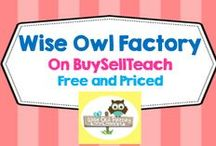 Wise Owl Factory on BuySellTeach / Wise Owl Factory on BuySellTeach---over 50 free educational printables as well as some priced products. / by Carolyn Wilhelm, NBCT, Wise Owl Factory