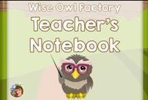 Wise Owl Factory on Teacher's Notebook / Wise Owl Factory has free and priced items on Teacher's Notebook for Pre-K through elementary grades. This is my Print and Go store.