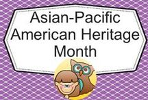 Asian-Pacific American Heritage Month / by Carolyn Wilhelm, NBCT, Wise Owl Factory