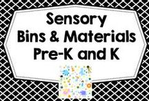 Free + DIY Sensory Pre-K and K / This Pinterest board has informational blog posts for DIY ideas for sensory bins.  Pre-K and K / by Carolyn Wilhelm, NBCT, Wise Owl Factory