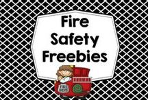 Fire Safety Freebies / Free educational resources and informational blog posts regarding fire safety. Pins selected by Carolyn Wilhelm of Wise Owl Factory. / by Carolyn Wilhelm, NBCT, Wise Owl Factory