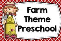 Free Preschool Farm Theme / Free educational farm theme preschool printables, DYI, and informational blog posts / by Carolyn Wilhelm, NBCT, Wise Owl Factory