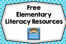 Free Elementary Literacy Resources / Free elementary literacy resources such as printables, Power Points, informational blog posts, articles, and DYI activities (no priced products). / by Carolyn Wilhelm, NBCT, Wise Owl Factory