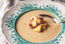 Soup season ! / I love soup sans trains new recipes every week :)