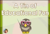 A Tin of Educational Fun / A Tin Of Educational Fun is for ideas using Altoids and mint tins for learning. Ideas for students!  / by Carolyn Wilhelm, NBCT, Wise Owl Factory