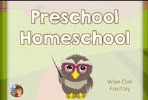 Preschool homeschool / Preschool homeschool and daycare ideas -- mostly free and DIY ideas, some Montessori, early education!  / by Carolyn Wilhelm, NBCT, Wise Owl Factory