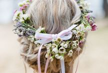happy with || FLOWERCROWN