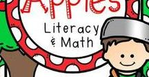 Apple Theme / All things apple themed for educational lessons, resources, informational articles, blog posts, podcasts