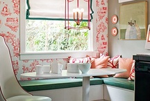 Breakfast Nook / by Sunny Days and Starry Nights