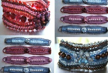 BEADS & Ribbons, and..... / fluffy & frilly, or spare & elegant... all of these either are or can be made without any METAL at all!