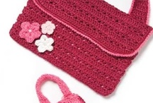 CROCHET - Accessories: Bags, Purses ... / Every outfit needs a little something. Here it is: