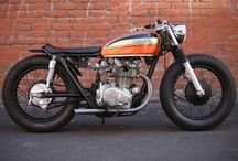 Motorcycles and Scooters / Two-wheeled machines that go vroom. / by Anthony Sicola