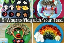 FOOD - Fun / Food always tastes better if it's pretty, or you can play with it!