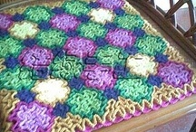 CROCHET - in the Home: Rugs, Pillows, Seat covers....