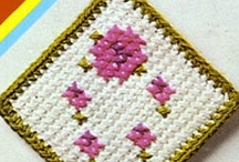 CROCHET - Doilies, Trivets, Coasters, Washcloths & Potholders / . . . and other kitchen stuff