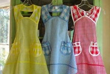 SEWING - Aprons, Pinafores, Potholders, and other Kitchen Treasures