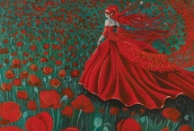 """I sing the poppy ... a charm for pain and woe"" (Mary A Barr)  / by Stevie Godson"