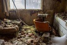 Espacios abandonados / Imagenes de lugares abandonados ,con historias que desconocemos , guardan misterio y curiosidad. / by Adri Bosch