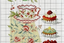 STITCHES - Counted... : Tea, Coffee & Kitchen