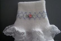 Lace Ruffle Socks & Other Sock Trim Ideas / by Marci Yingling