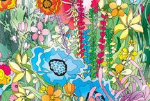 Artistic Patterns / Just living is not enough...one must have sunshine, freedom, and a little flower....pattern!