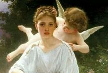 Artistic Angels / Angels, in all their glory. / by Marie Wise