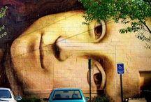 Artistic Street Art / Graffiti, installations and other inspiring street art.