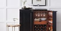 Cocktail Hour / All things to keep your bar stocked and stylish for entertaining guests!