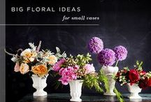 Fab Florals / Our stores have fresh floral arrangements so it smells wonderful as soon as you step through the door! Our love of flowers extends through our designs and patterns too. Check out this board for floral tips and tricks or just pretty flower arrangements! / by Arhaus