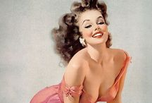 Artistic Pinup Girls / Classic pinup girl illustrations of the 20s. / by Marie Wise