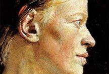 Artistic Portraits / Inspiring faces of art.