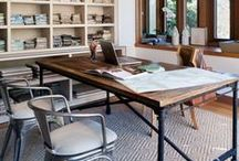 Workspaces / Rustic & Industrial home office and study spaces designed to inspire a beautiful work experience! / by Arhaus
