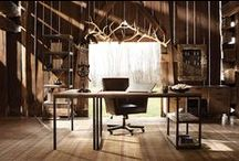 "Spaces that ""work""! / Home offices and study spaces designed to inspire a beautiful work experience! / by Arhaus"