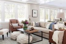 Rustic & Refined Living Rooms / These living rooms are all about easy elegance, they are put together but also comfortable & inviting.  / by Arhaus