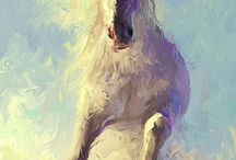 Artistic Horses / Equine spirit and beauty captured in paint or photography.