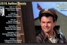 Book Signings / Photos from various author events around the world.