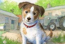 Artistic Children's Book Illustrations / Beautiful and inspiring children's book illustrations.