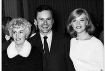 Bob Crane and Other Stars / Whether it was on his KNX Radio show or from his tremendous success as an actor, Bob knew everyone who was Somebody in Hollywood.